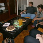 Visiting an apartment in Karlovac