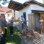 Visiting a housing unit in Grubišno Polje